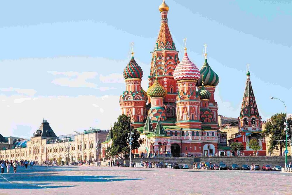 Quảng trường Đỏ là biểu tượng của cả đất nước Nga