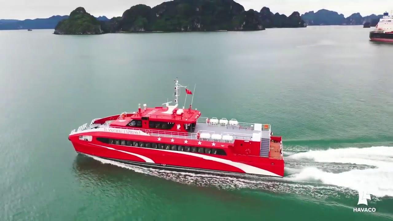 Tàu siêu tốc màu đỏ Tuần Châu Cô Tô