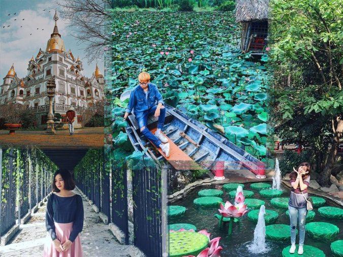 Ti tỉ những khung hình chụp đẹp khi đến với Sài Gòn
