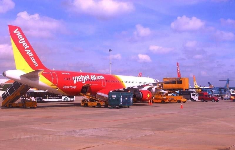 máy bay hãng Vietjet