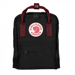 Balo Fjallraven Kanken Mini Black/Ox Red