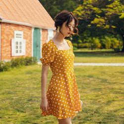 Váy chấm bi Dost Dress DRS01