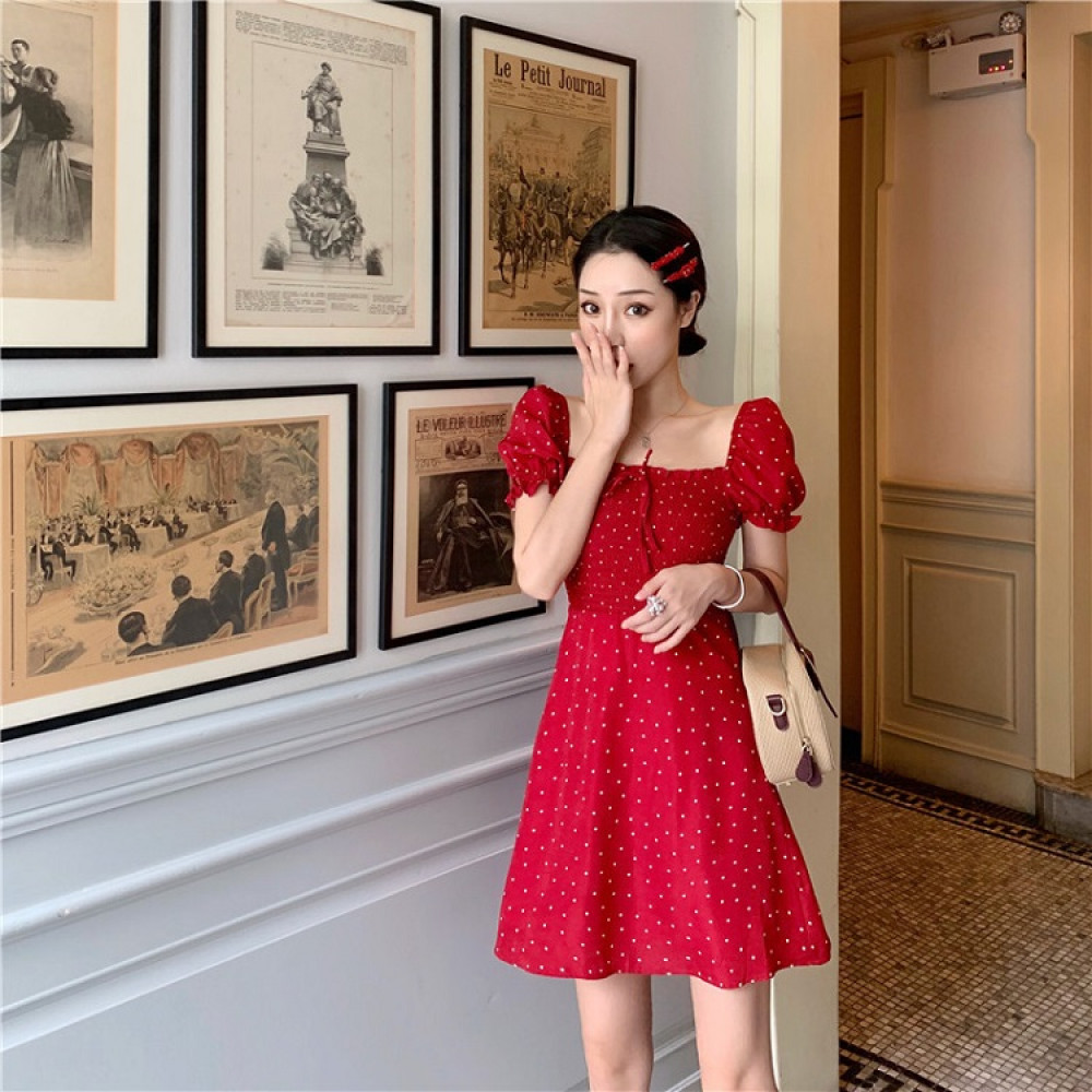 Váy chấm bi Dost Dress DRS02