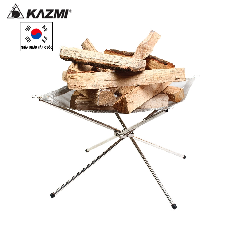 Bếp nướng than củi dã ngoại Kazmi K6T3G001