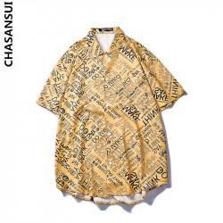 Áo sơ mi Chasansui CSS01 vàng