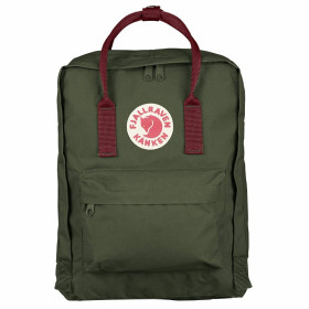 Balo Fjallraven Kanken Classic 0642 Forest Green/Ox Red