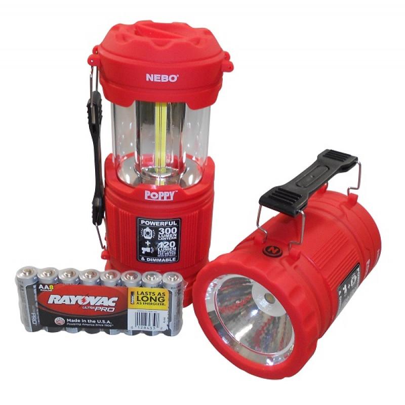 đèn pin đa chức năng nebo poppy