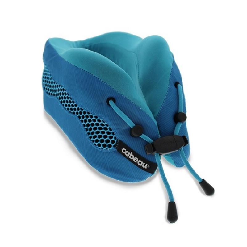 Gối Cabeau Evolution Cool Travel Pillow Blue