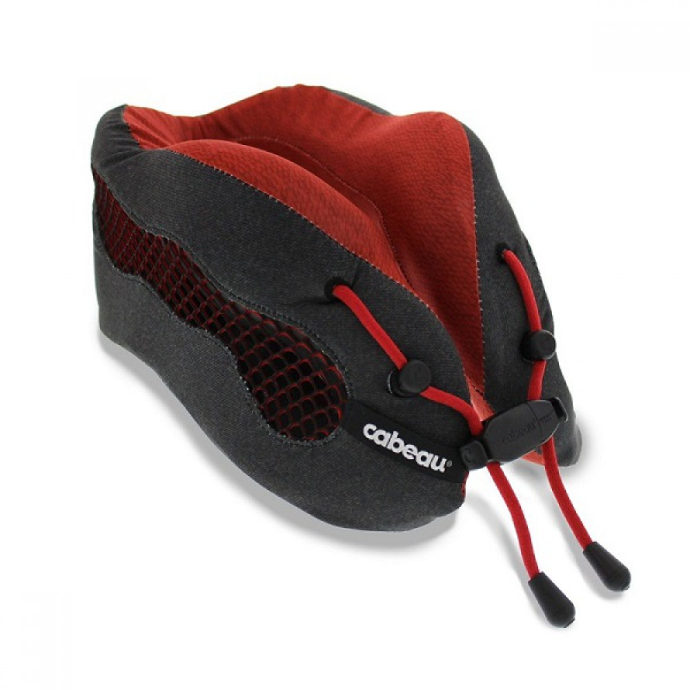 Gối Cabeau Evolution Cool Travel Pillow Red