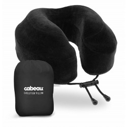 Gối Chữ U Cabeau Evolution Travel Pillow Black