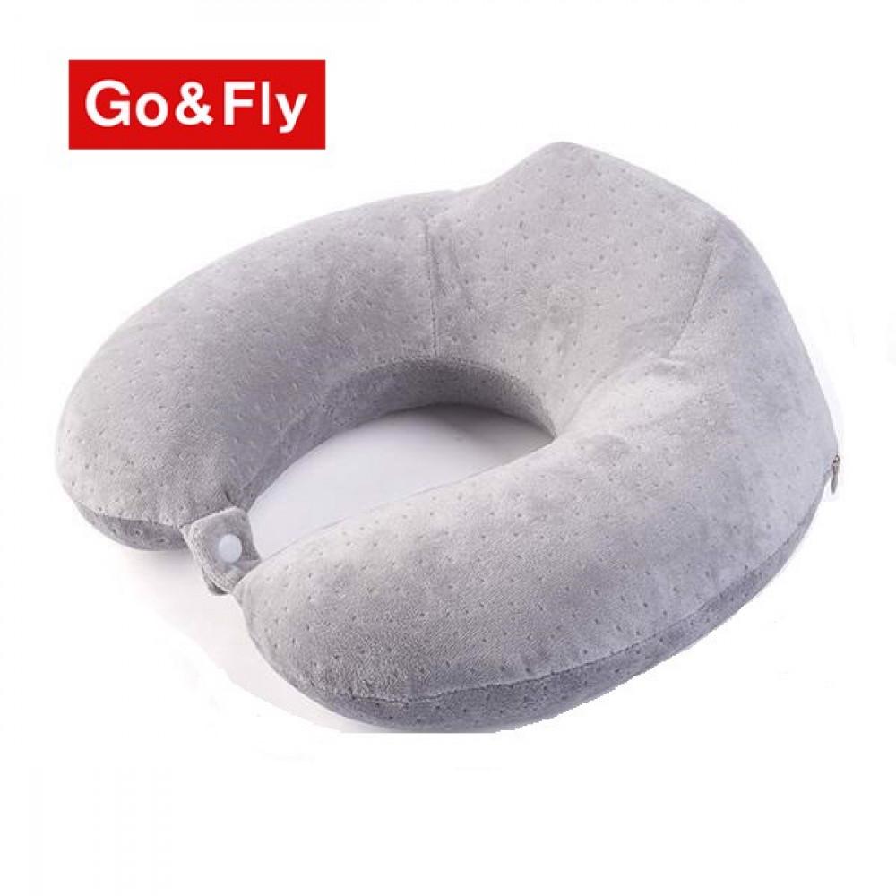 Gối chữ U văn phòng GoandFly Grey