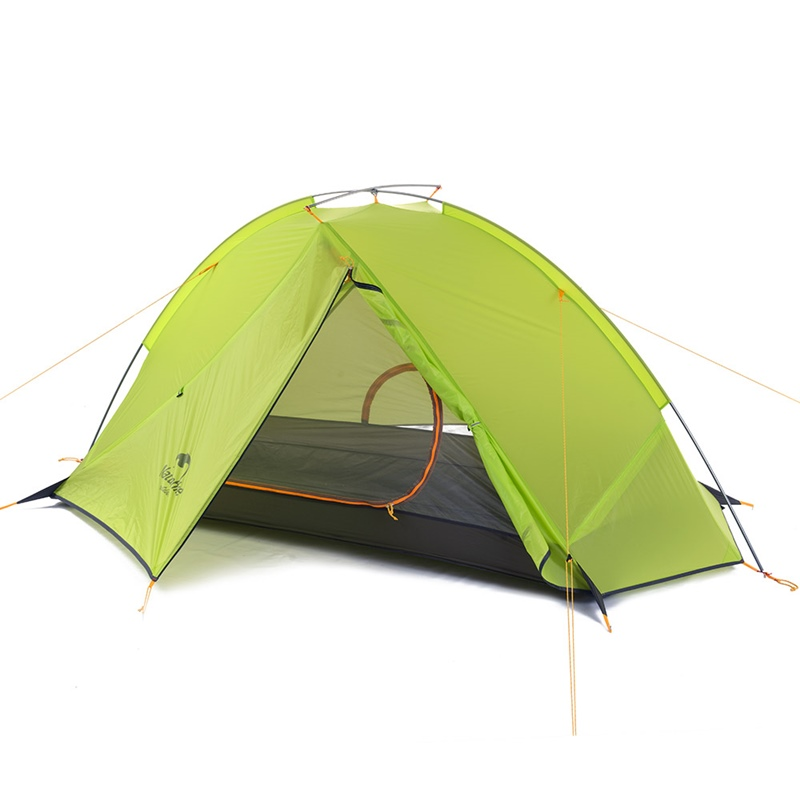 Lều du lịch Naturehike NH17T140J green 2 lớp 1 người
