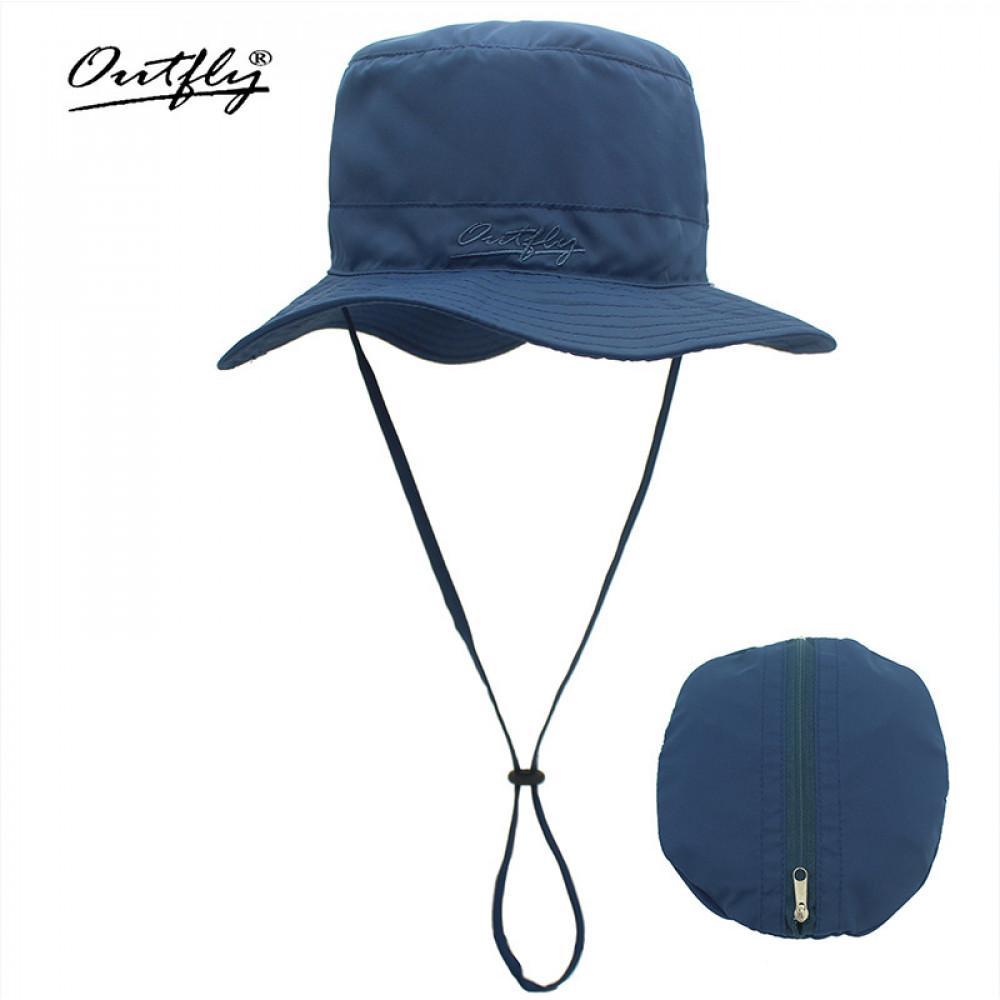 Mũ Bucket nam nữ Outfly B09004F navy