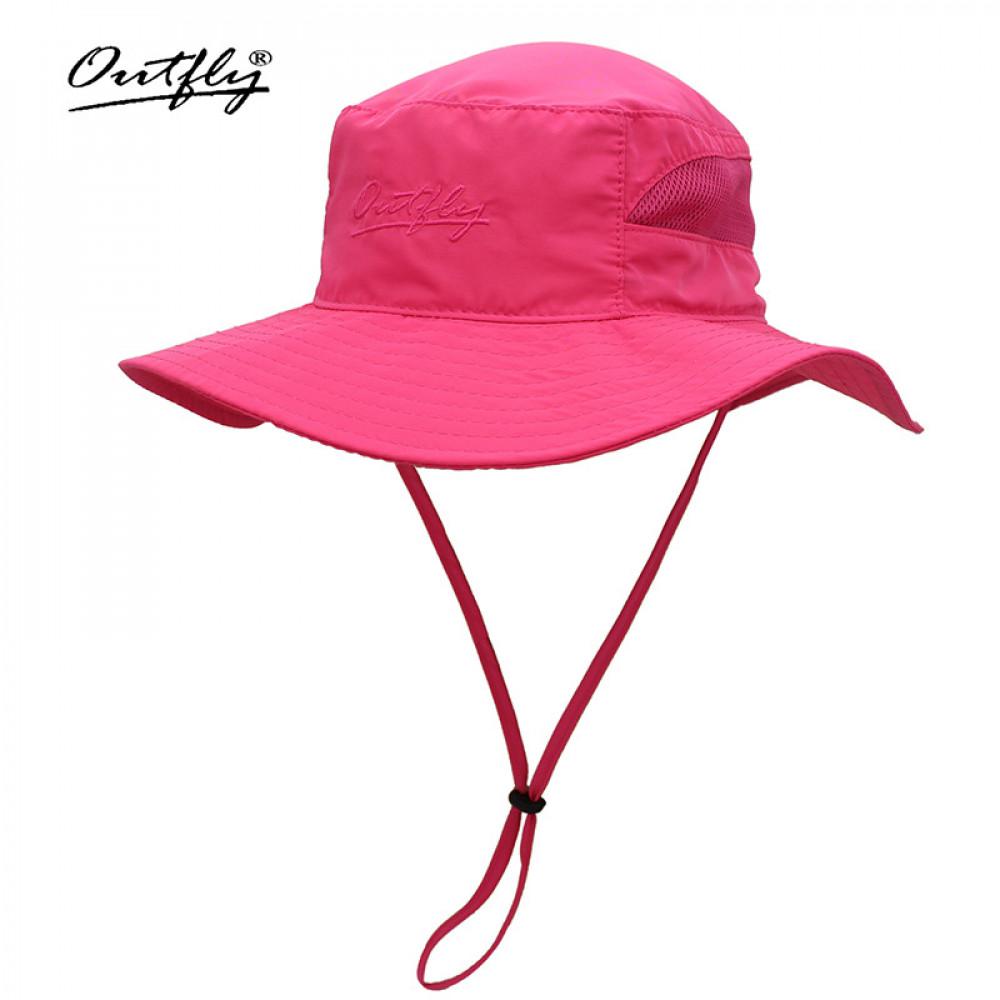 Nón Bucket nữ Outfly B18001E pink