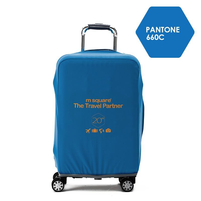 Túi bọc vali size 24 co giãn Msquare