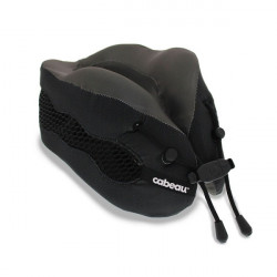 Gối Chữ U Đi Máy Bay Cabeau Evolution Cool Travel Pillow Black