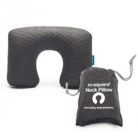 Gối Hơi Chữ U Du Lịch Msquare Neck Pillow Grey