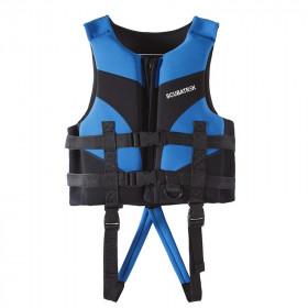 Áo phao bơi cho bé Scubatrek Xanh Blue