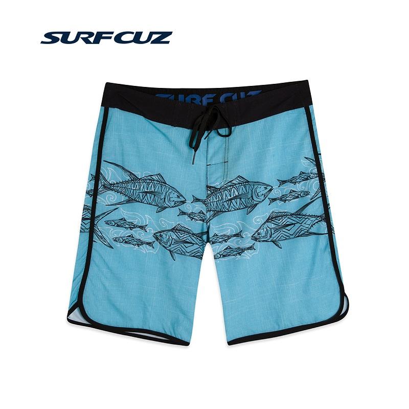 Quần boardshort nam Surfcuz SCBSZHA66A blue