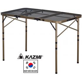 Bàn xếp chân cao 3 gấp Kazmi Iron Mesh 3 Folding Table K7T3U014