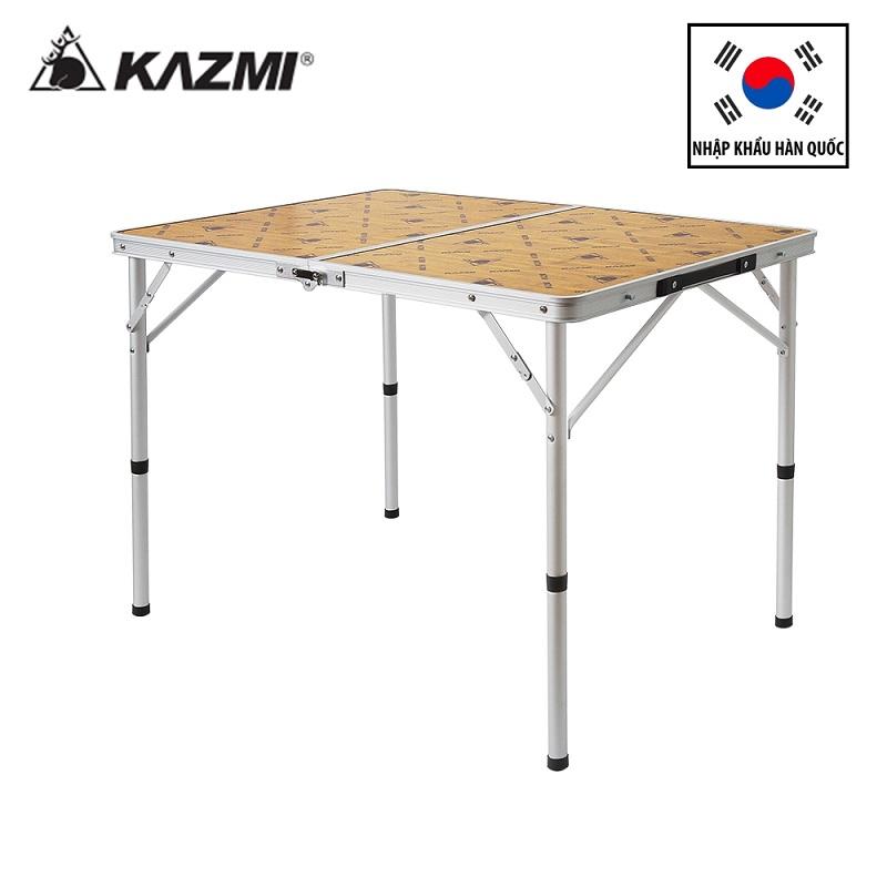 Bàn xếp du lịch picnic 2 gấp Kazmi New 2