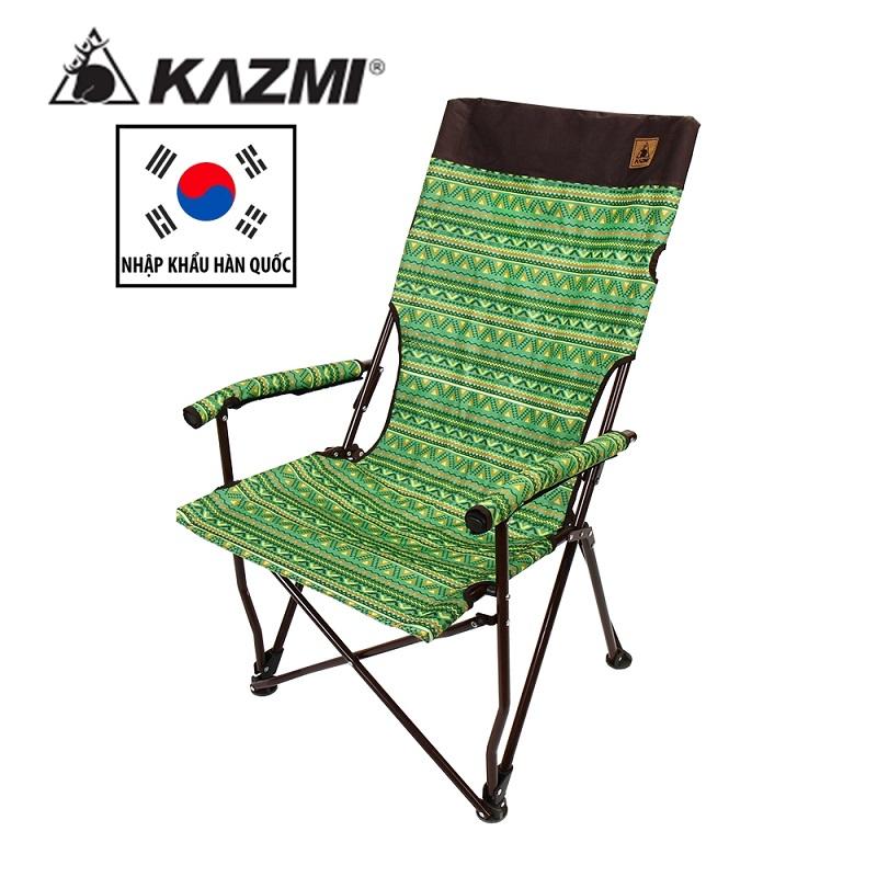 Ghế gấp thư giãn lưng cao Kazmi K3T3C026