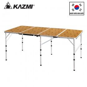 Bàn xếp du lịch picnic 4 gấp Kazmi Ultra Slim 4