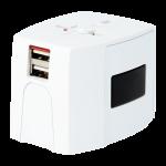 Ổ cắm điện đa năng có cổng usbSkross World Adapter MUV USB