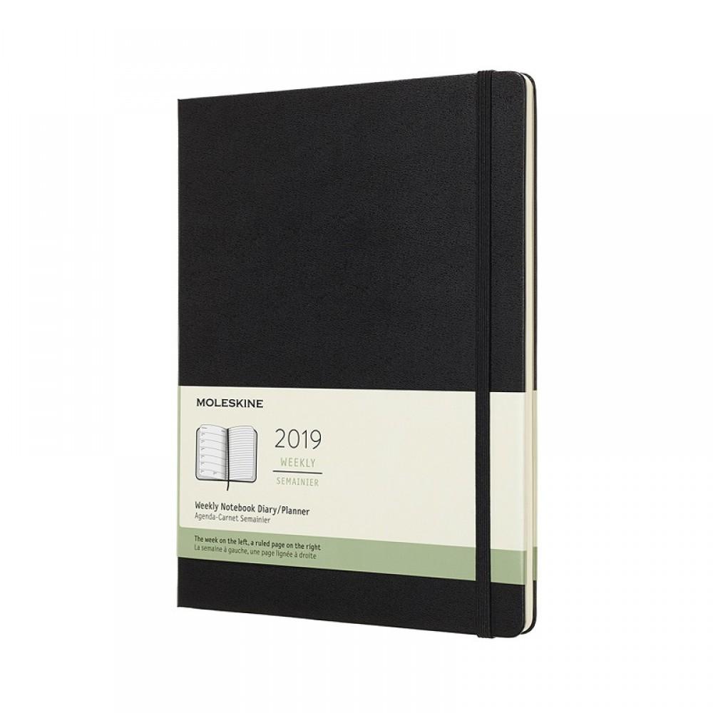 Sổ tay Moleskine Notebook Planner 12 Month Weekly