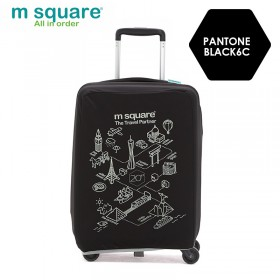 Túi bọc vali vải Msquare M0585