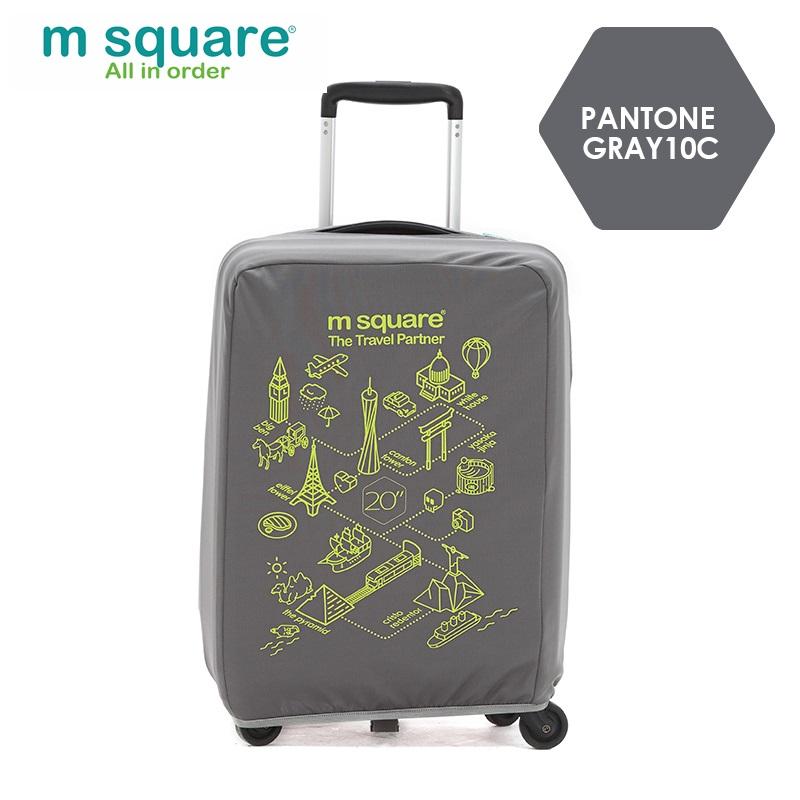 Túi bọc vali thun Msquare M0587