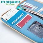 Ví đựng hộ chiếu Msquare size L Navy