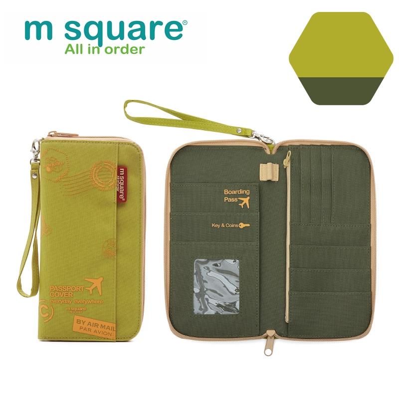 Ví đựng passport nam nữ Msquare M0581 size S, L