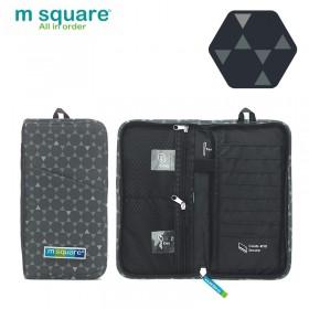 Ví đựng visa passport Msquare Business II Grey