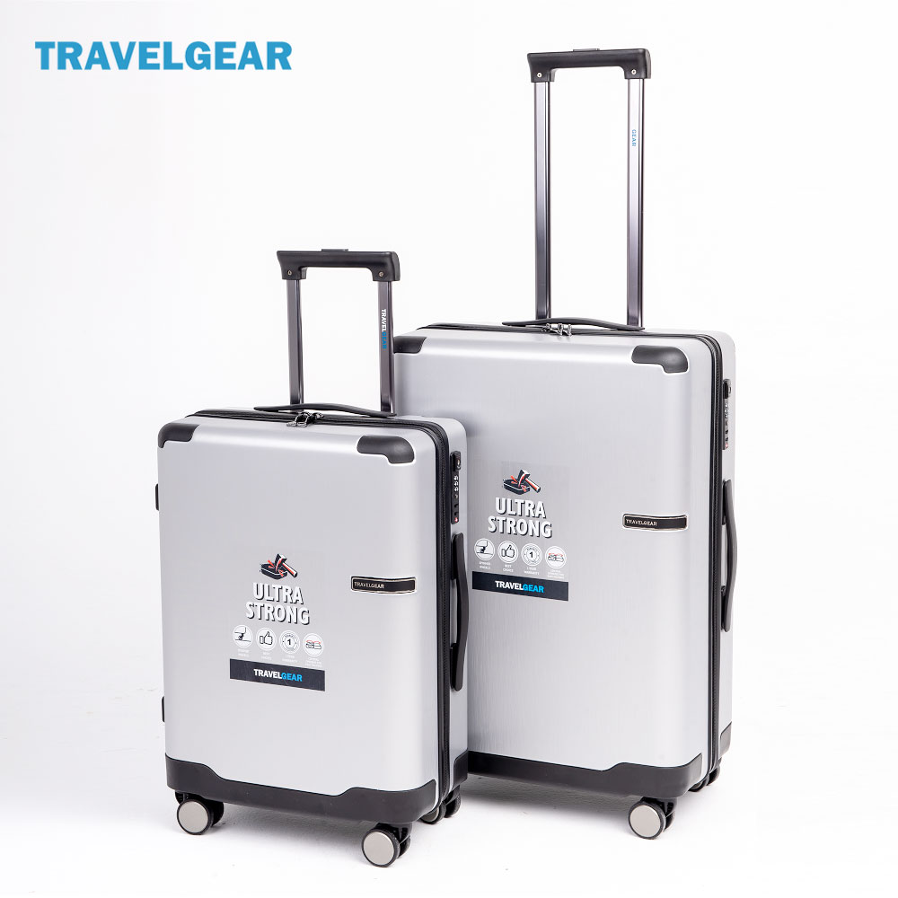 Vali kéo du lịch Travelgear size 20 24 inch Silver