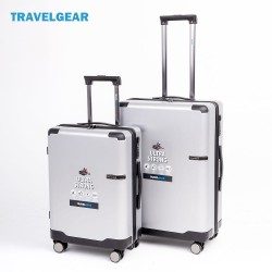 Vali kéo du lịch Travelgear size 20 - 24 inch Silver