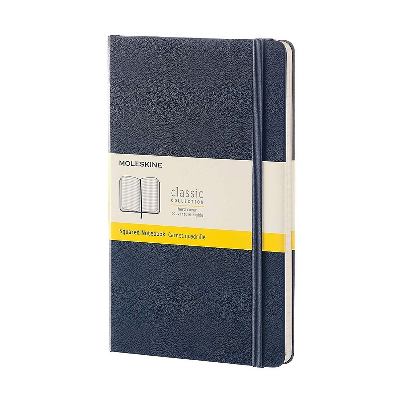 Sổ tay Moleskine Classic Notebook Squared Hard Cover