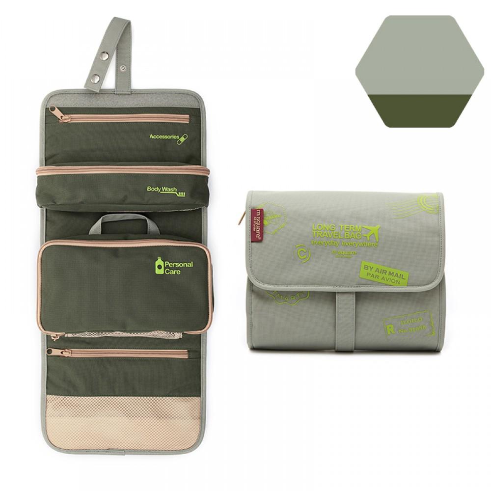 Túi đựng mỹ phẩm du lịch Msquare M0582 Grey