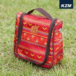 Túi đựng mỹ phẩm Hàn Quốc Kazmi K5T3B008 Red
