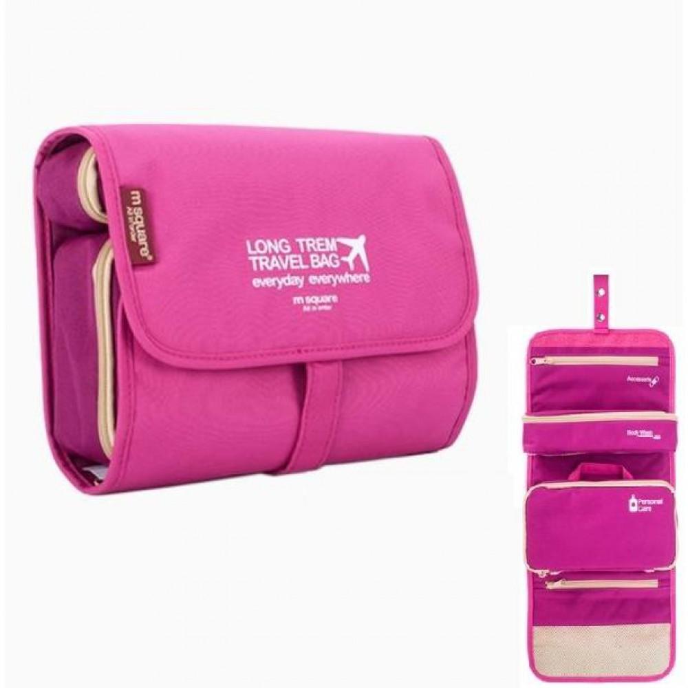 Túi đựng mỹ phẩm Msquare Bag In Bag Pink
