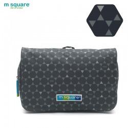 Túi mỹ phẩm du lịch Msquare Business II Grey