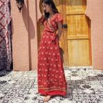 Váy bohemian BHM03 Xẻ