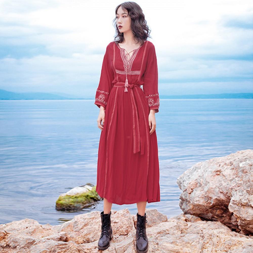Váy bohemian BHM04