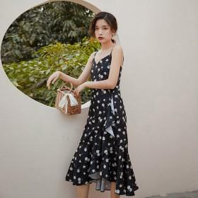 Váy hai dây TDR02 Black