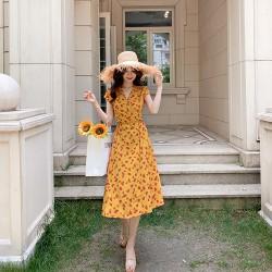 Váy hoa đi biển FLD01