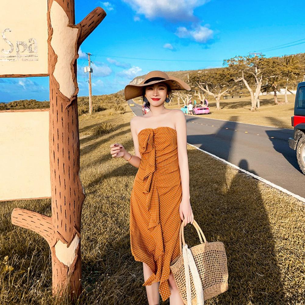Váy quây đi biển CCQ01