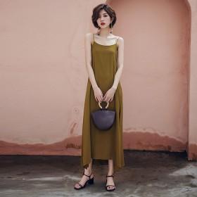 Váy suông Slippery SDR01A Yellow
