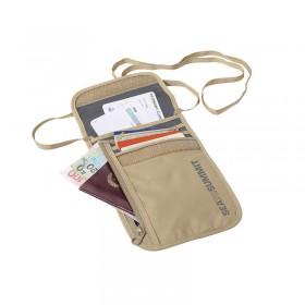 Túi Đựng Hộ Chiếu Đeo Cổ Seatosummit Neck Wallet 5 Beige