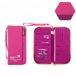 Ví Đựng Hộ Chiếu Msquare Size L Pink