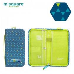 Ví đựng passport du lịch Msquare Business II Blue